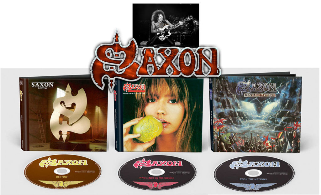 TV ROCK LIVE » Saxon : Innocence Is No Excuse, Rock The